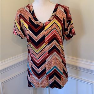 Small striped top NWOT